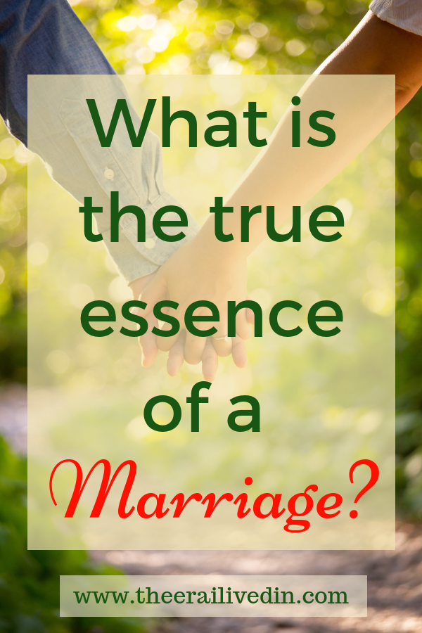 What is the true essence of a marriage? Does it involve the mutual love, respect and understanding of two individuals or does it go beyond that? Read on to be a part of the debate on this important topic. #theerailivedin #relationships #marriages #couples #love #trust #spouses