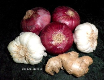 Onion, Ginger & Garlic