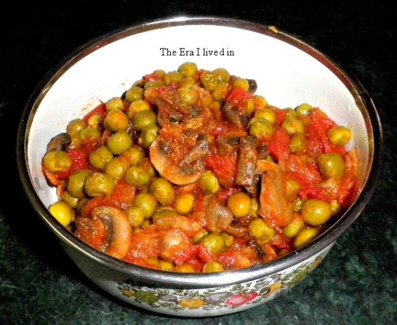 Matar Mushroom - Tasty bhi Healthy bhi