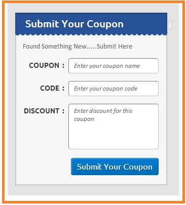 submit coupon -1