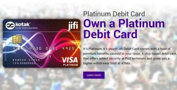 Jifi Platinum card