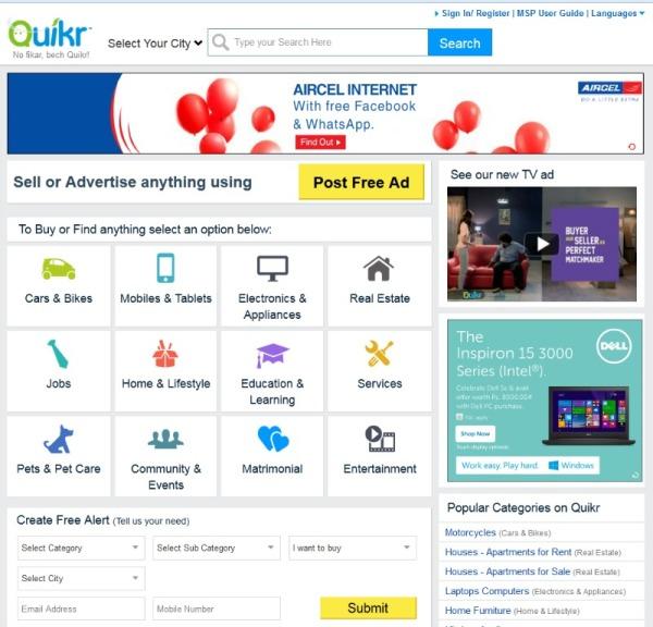 Quikr -3.1