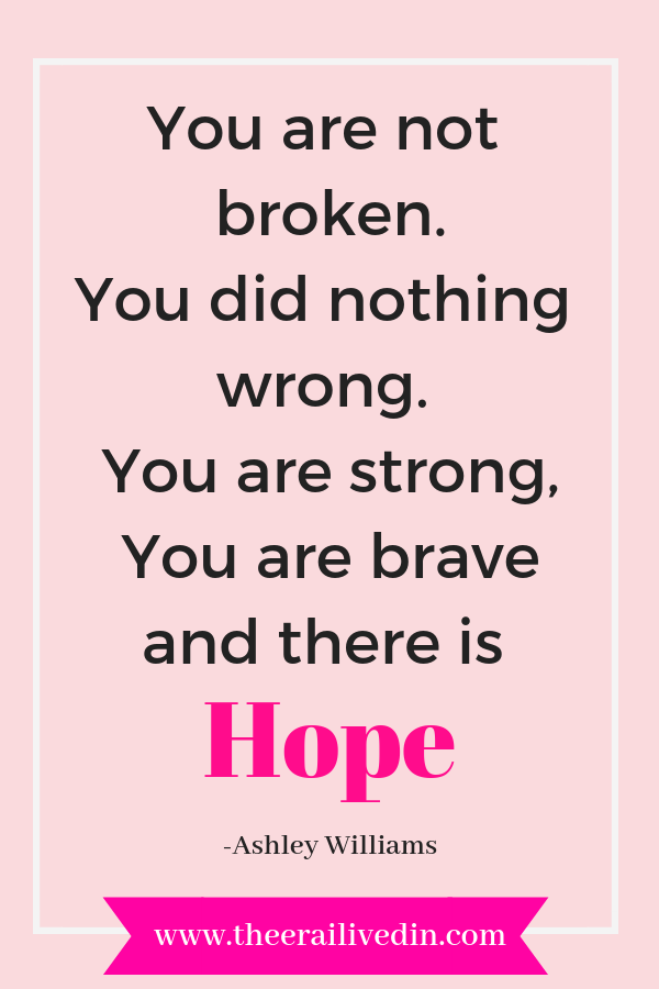 Mom, you are not broken. You did nothing wrong. you are strong, you are brave and there is hope. A positive quote to inspire the mom going trying to heal after a miscarriage or child loss.