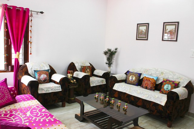 Our drawing room after a makeover with the exquisite collection of the Flipkart Home Store