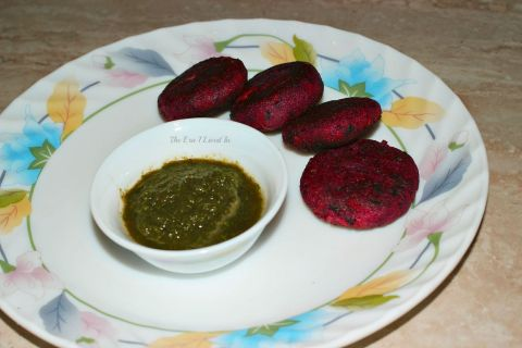 Beetroot & Carrot Cutlets (2)