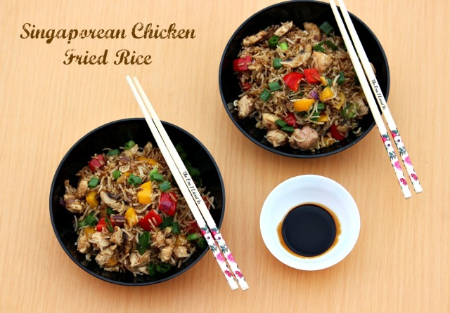 Singaporean Chicken Fried Rice ( The Era I Lived in)