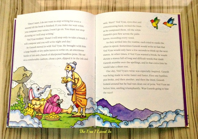 Looking for a book on Lord Ganesha? Read the book review of the beautiful, well-illustrated children's books on Lord Ganesha by Subhadra Sen Gupta. Come, explore the details with pictures of the inside of the book. #theerailivedin #bookreview #books #childrensbooks #Ganesha #IndianMythology