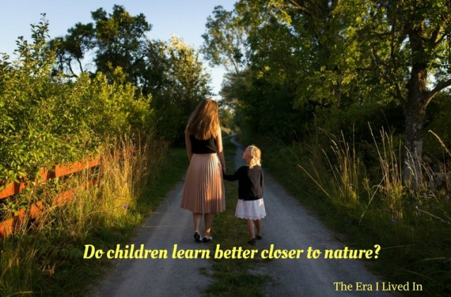 Do children learn better closer to nature- (1)