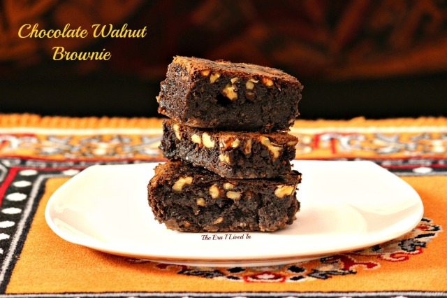 Chocolate Walnut Brownie -2.1