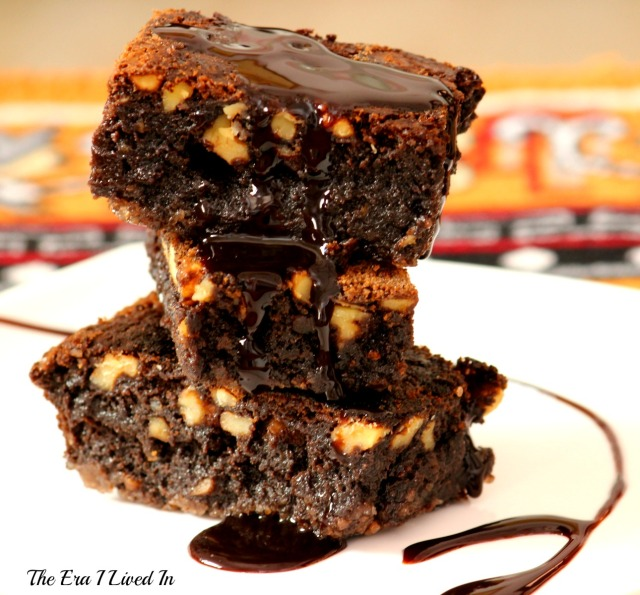 Chocolate Walnut Brownie -3