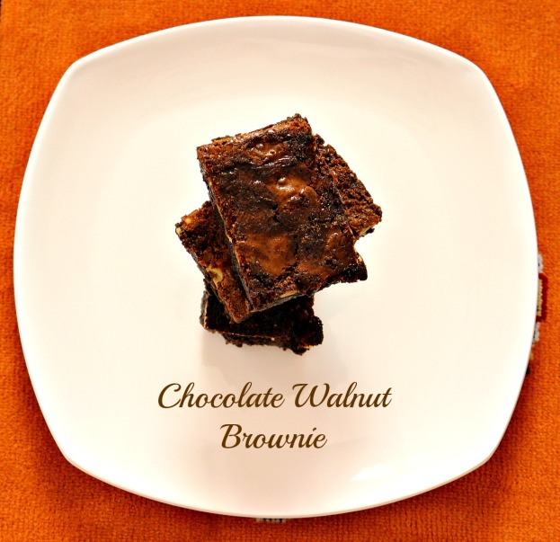 Chocolate Walnut Brownie -4