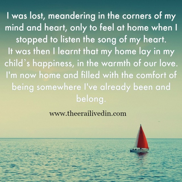 Do you feel lost, tired and overwhelmed by parenting? Here's how you I started making sense of the chaos my life as a single mom had become. #theerailivedin #singlemom #quotestoliveby #momlife #parenthood #inspiration #kids #parents