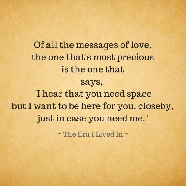 #messageoflove
