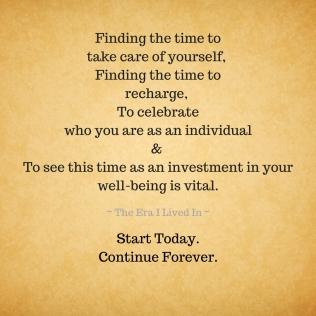 Self-Care is true love