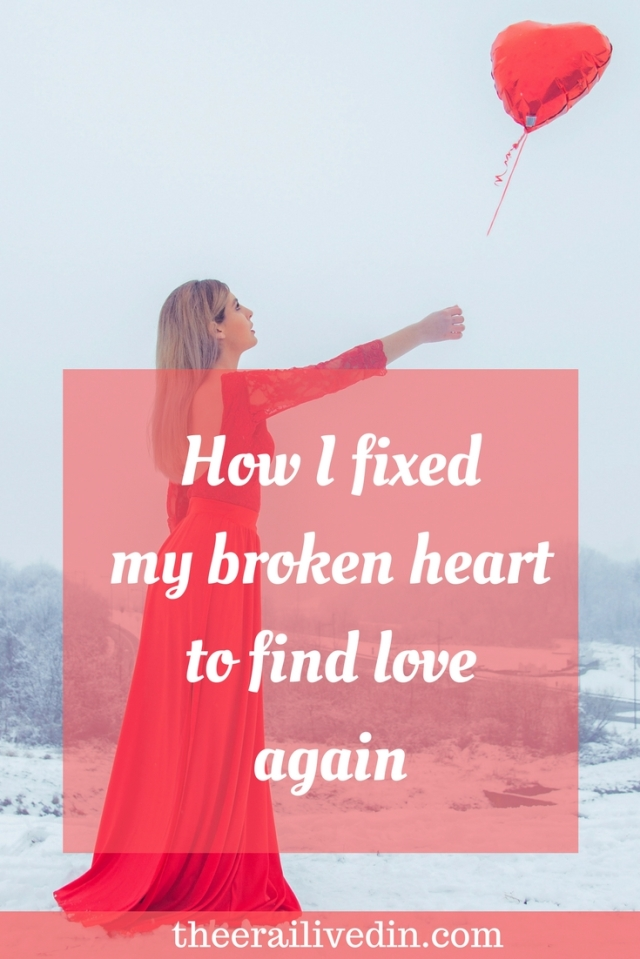 Are you struggling with a heartbreak? Do you feel you can never love again? Read on my blog the one strategy that helped me overcome the trauma of being cheated upon by my spouse, surviving a divorce and finding love again. #theerailivedin #divorce #heartbreak #selflove #love #perspective #girlboss