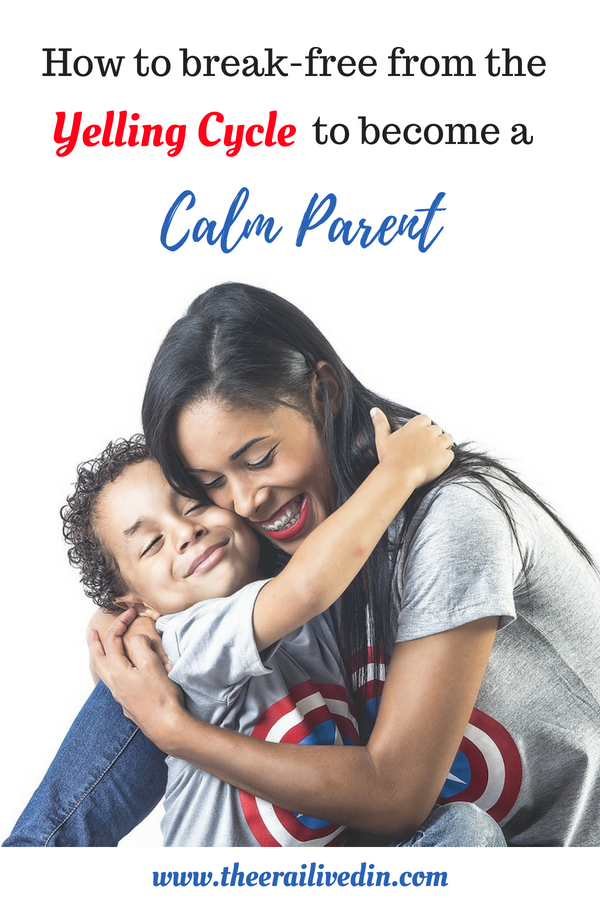 Are you struggling with staying calm with your kids? Are you looking for actionable tips to help you break the yelling cycle? Then be a part of my journey of how I transformed from an angry mom to a peaceful parent with a detailed action for immediate & sustained results. #positiveparenting #theerailivedin #parenting #momlife #motherhood #peacefulparent #yellfree #calmmom #angrymom #stopyellingatkids #happymom #funmom #whyparentsyell