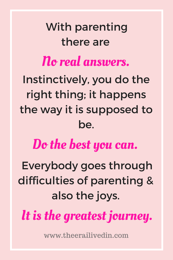 Divorces are difficult and painful, more so for kids. Here are tips on how to talk to your child about the divorce and explain what it means for the family. I also share the important life lessons I learnt. #theerailivedin #divorce #talkingaboutdivorce #parentingtips #parentingstruggles #separation