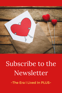 Subscribe to my weekly newsletter ~ The Era I Lived In PLUS to get the latest articles, life hacks and everything that keeps me going and growing delivered straight to your inbox.