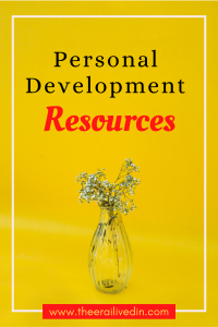 A collection of personal growth articles and tools to help you get started on the goals that matter to you. Backed by my personal experience and the success I have had in my personal life, these resources are designed to help you get started on value work that lays the strong foundation for successful outcomes. #theerailivedin #personalblogger #Personaldevelopment