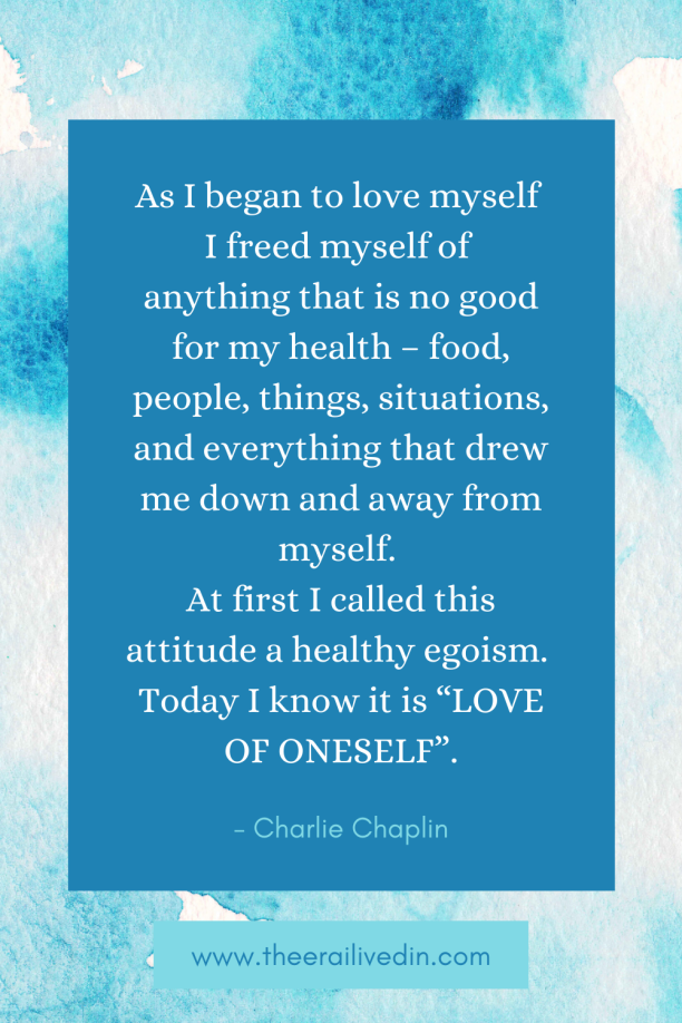 Are you struggling with coping in the uncertain times of the pandemic? Read to know the simple yet effective practice that is helping me cope and grow self-love in a sustainable way. #theerailivedin #selflovequotes