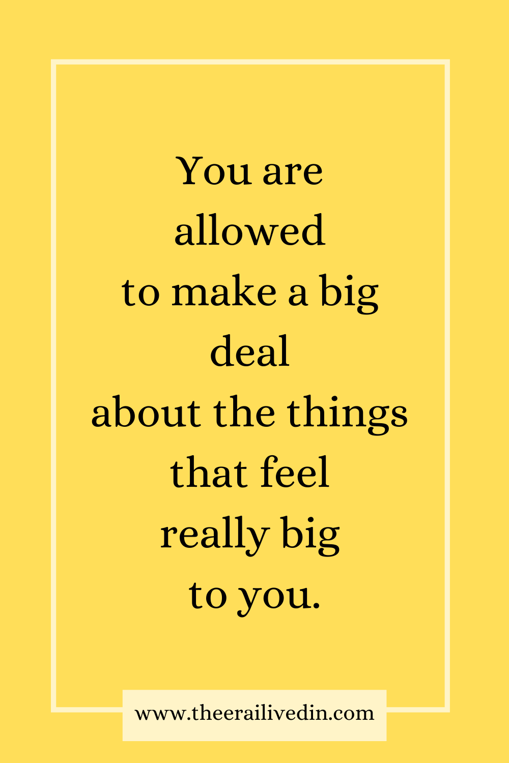 You are allowed to make a big deal about the things that feel really big to you. Children act out because they are unable to process big emotions or to express their needs in words. The disobedience and defiance in strong-willed, stubborn children is often just a way of seeking help and attention. #theerailivedin #parentingtips